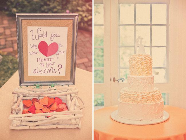 pin a heart wedding