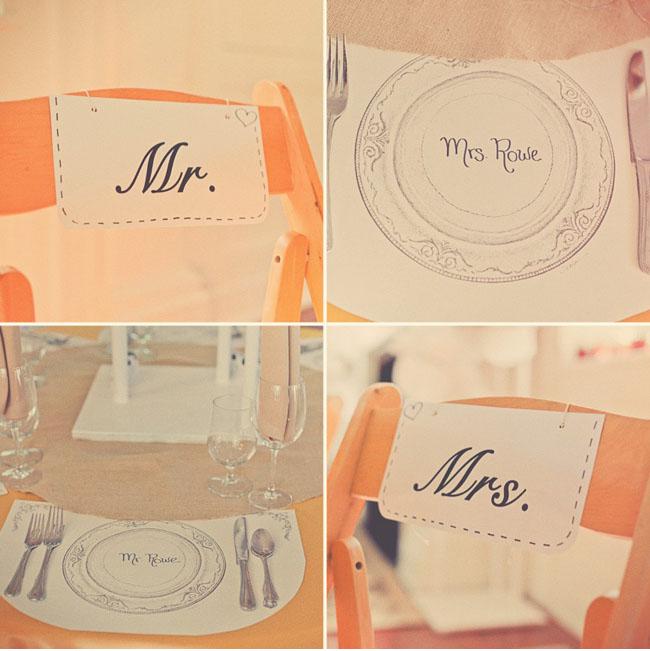 wedding details diy