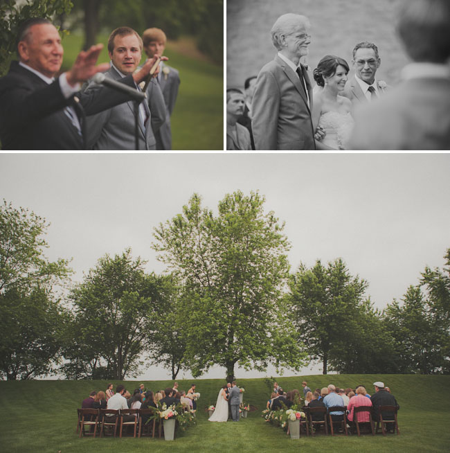 outdoor Chicago wedding