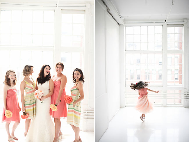 bridal party photos j crew