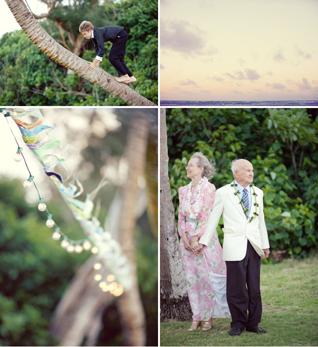 hawaii wedding sunset