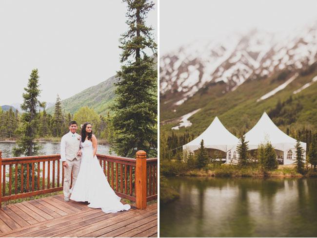 alaska wedding tents