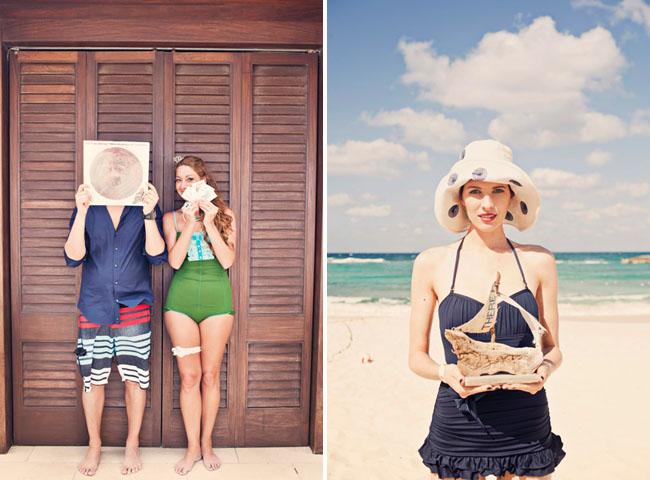 bathing suit wedding bahamas