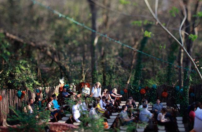outdoor austin wedding