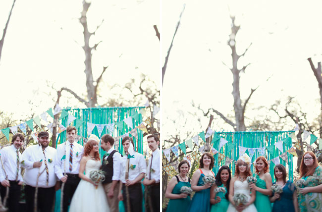 outdoor austin wedding
