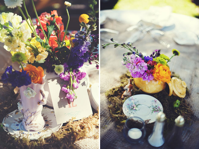 backyard wedding details