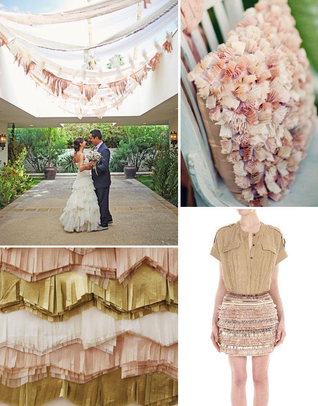 fringe wedding ideas