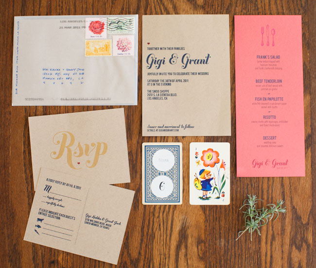 wedding invitations with buttermilk font