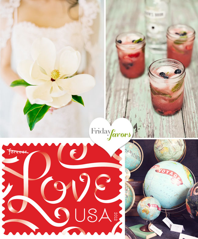 love wedding stamp