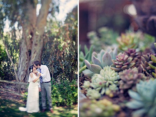 wedding succulents california