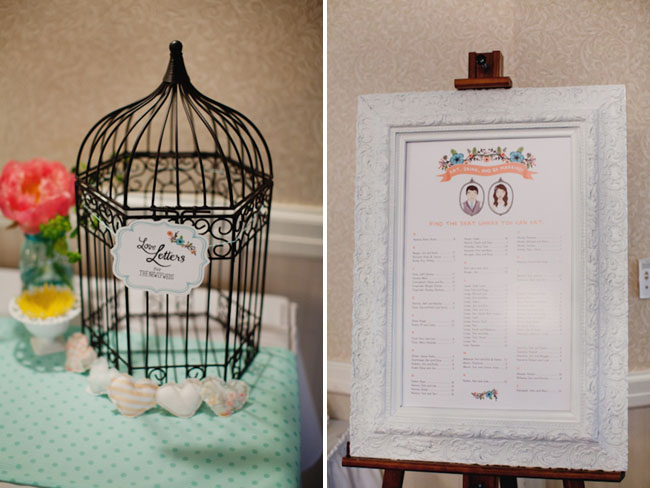wedding guestbook illustrated