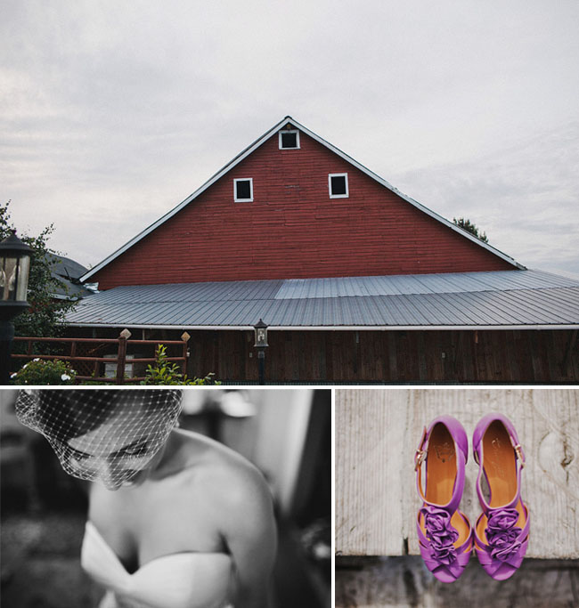 farm wedding in washington