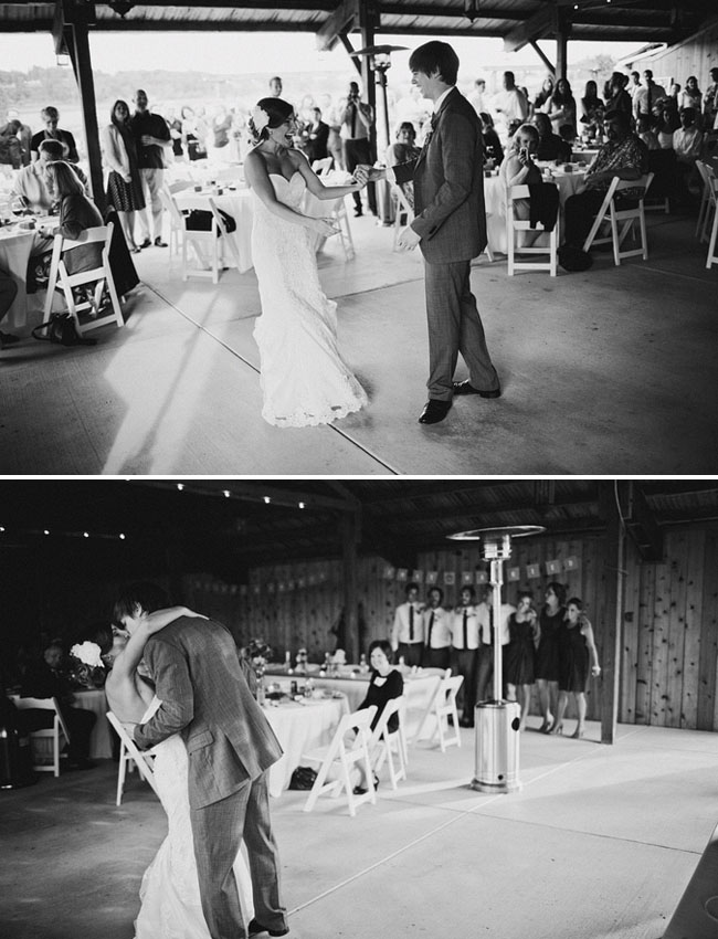 wedding dance black and white