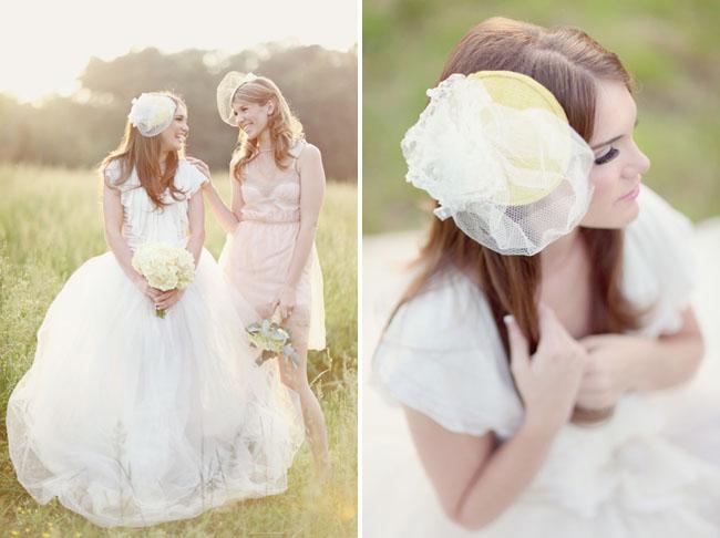 preston & Olivia bridal hats
