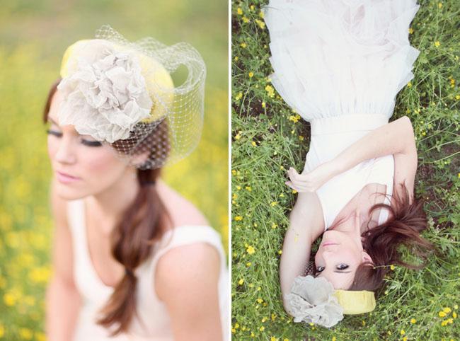 vintage bridal hats Preston & Olivia