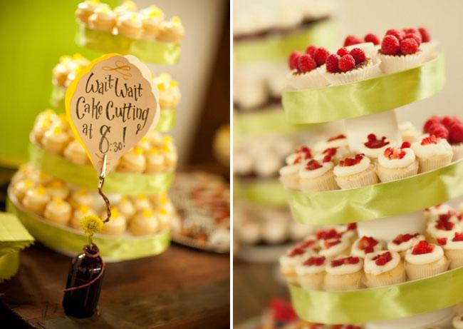 cupcake cake tier