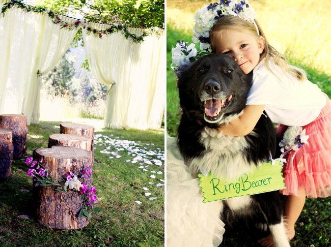 ring bearer dog
