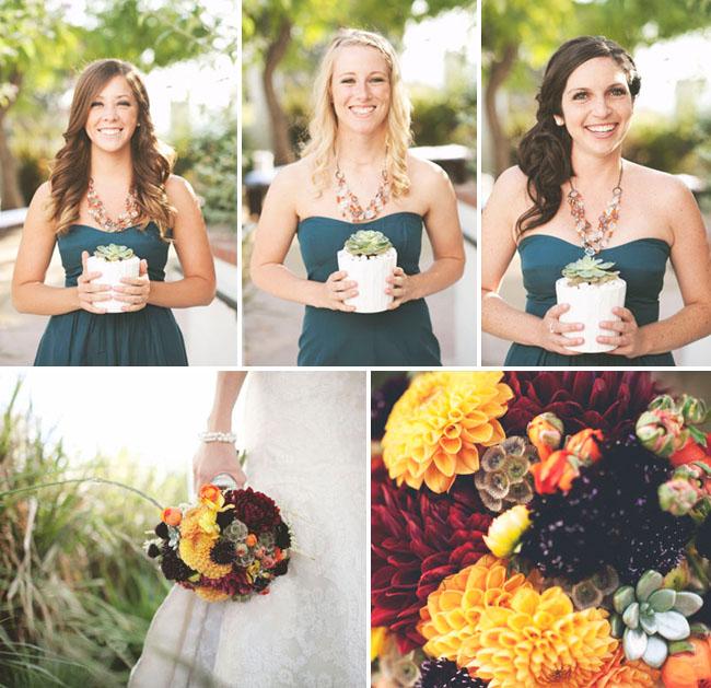 Fun + Stylish Circle Themed Wedding