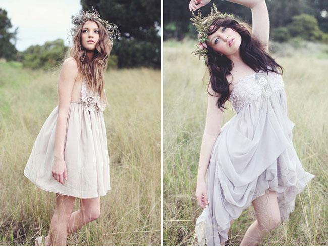 chic bridemaids