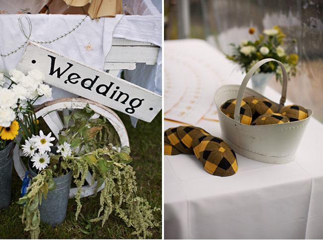 black and yellow wedding yamakas