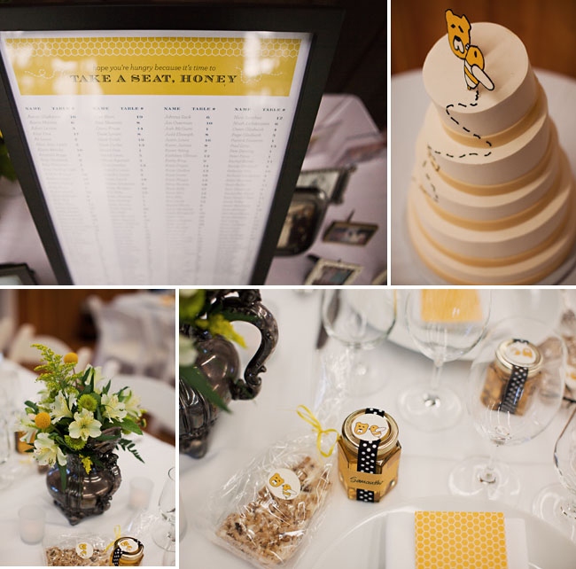 Bumble Bee Wedding Favors