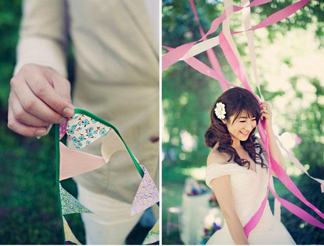 crepe paper ceremony