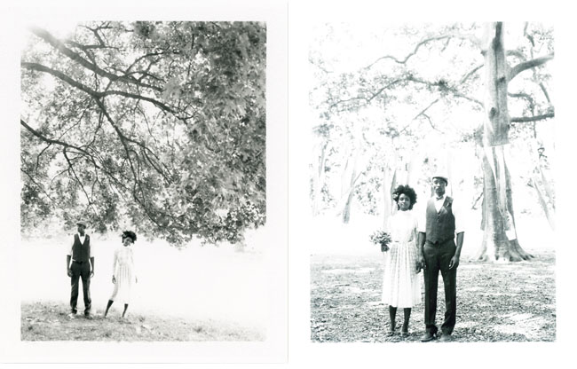 black and white photos elopement