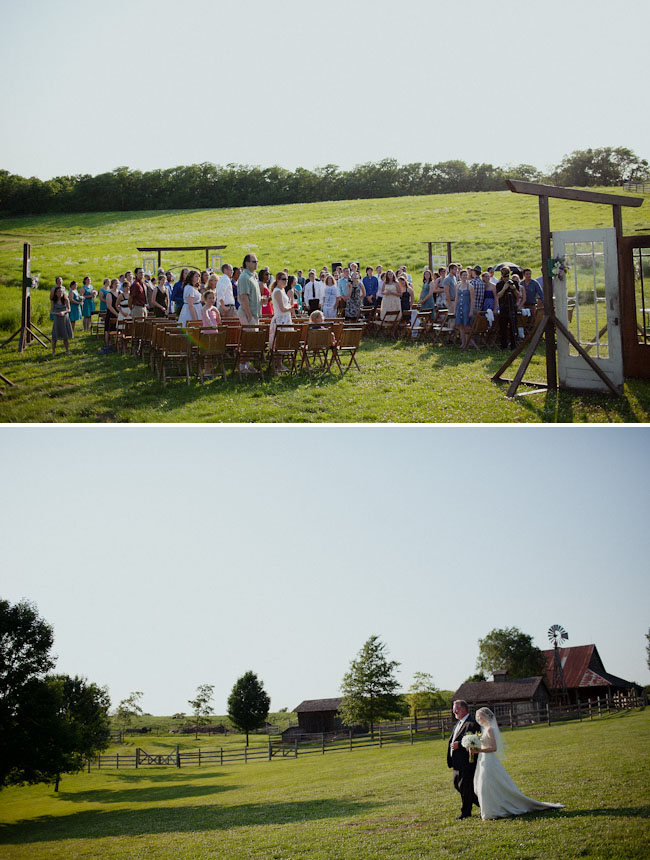 outdoor ceremony barn