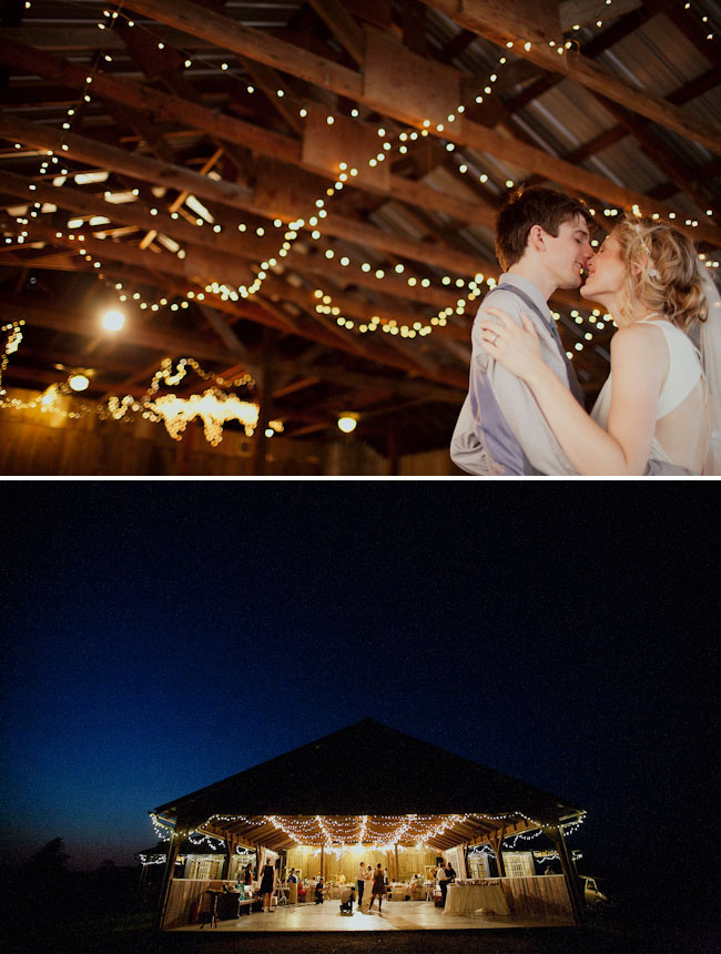 dancing under the twinkling lights