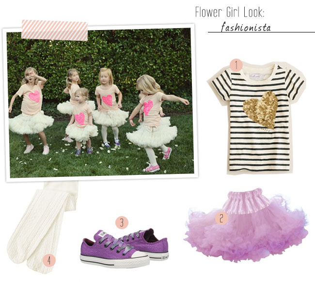 Styling The Little Ones Flower Girl Fashion Green
