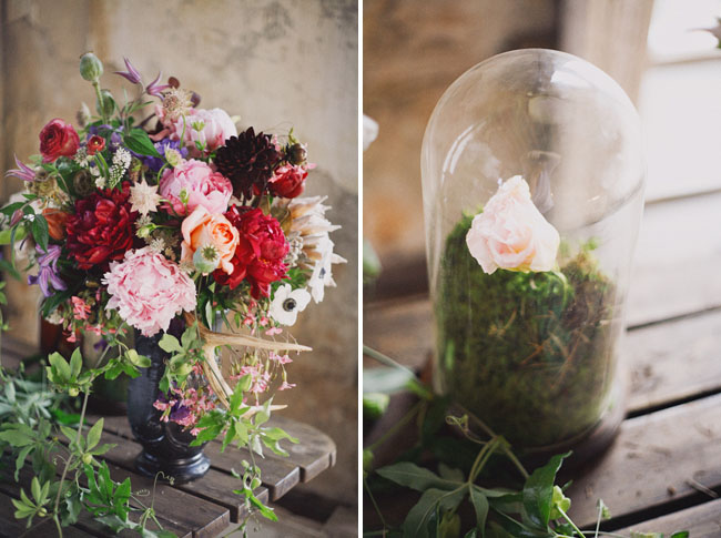 terrarium wedding decor