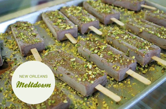 meltdown gourmet popsicles new orleans