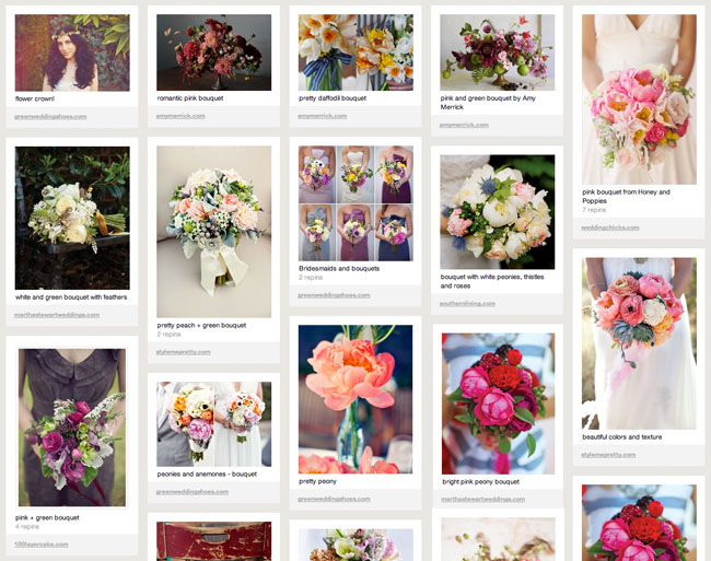 Pinterest a perfect online place to store all your wedding ideas green wedding shoes pinterest flowers junglespirit Image collections