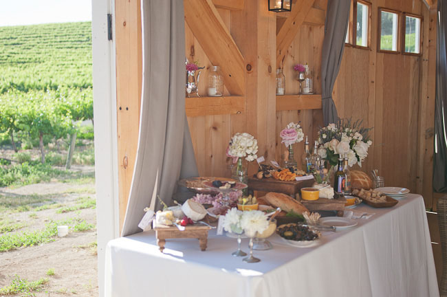 cheese and crackers wedding bar