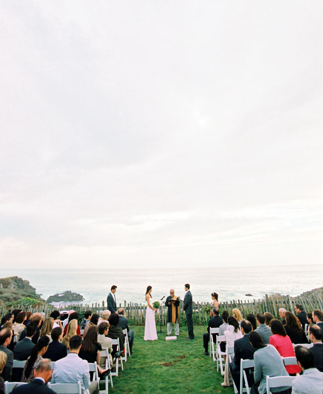 coastal wedding ceremony