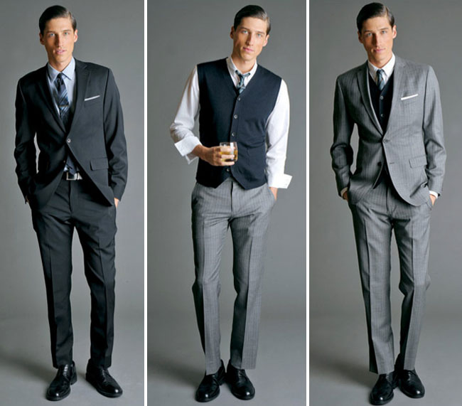 Wedding Dresses For Men: Mad Men Fashion For The Groom
