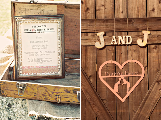 bride and groom name initals decor