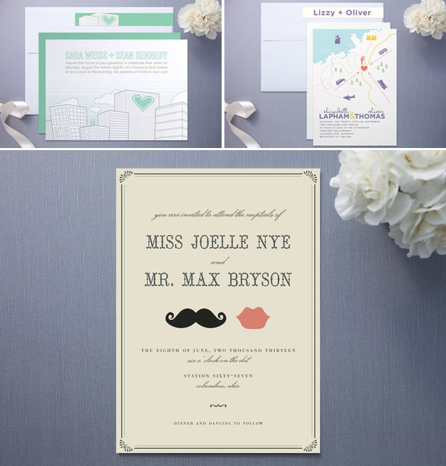 minted wedding invitations