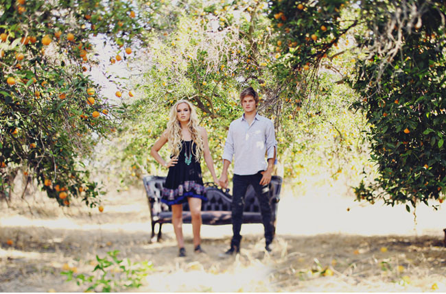 orange grove couple