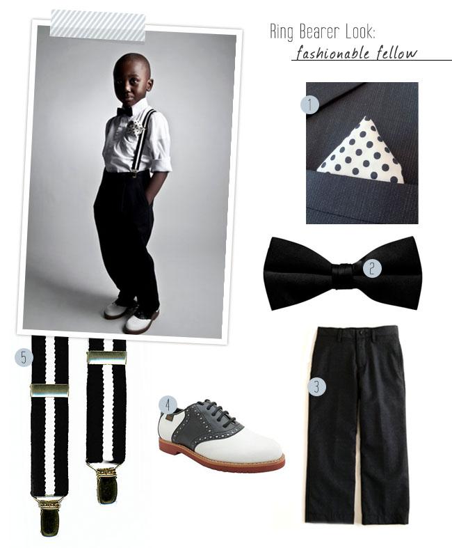 ring bearer style suspenders