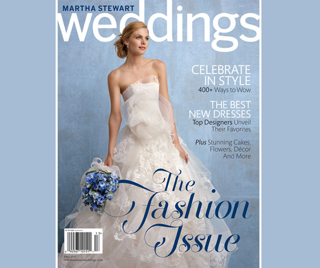 martha stewart weddings magazine fall 2011