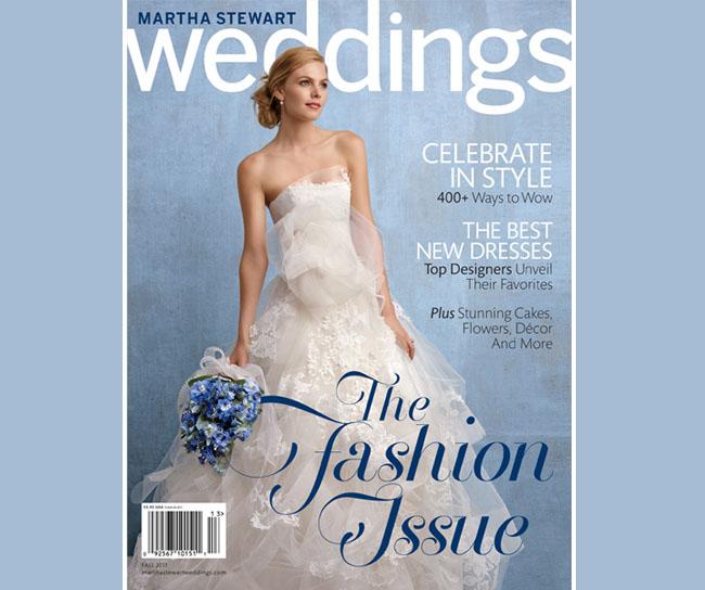 martha stewart weddings magazine fall 2011