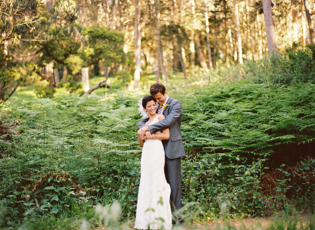 bride and groom before wedding