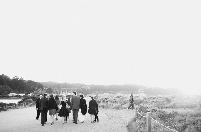 small wedding on the beach