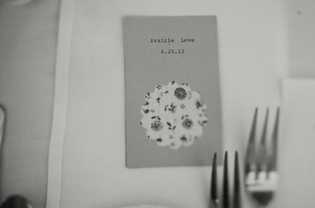 a praire wedding