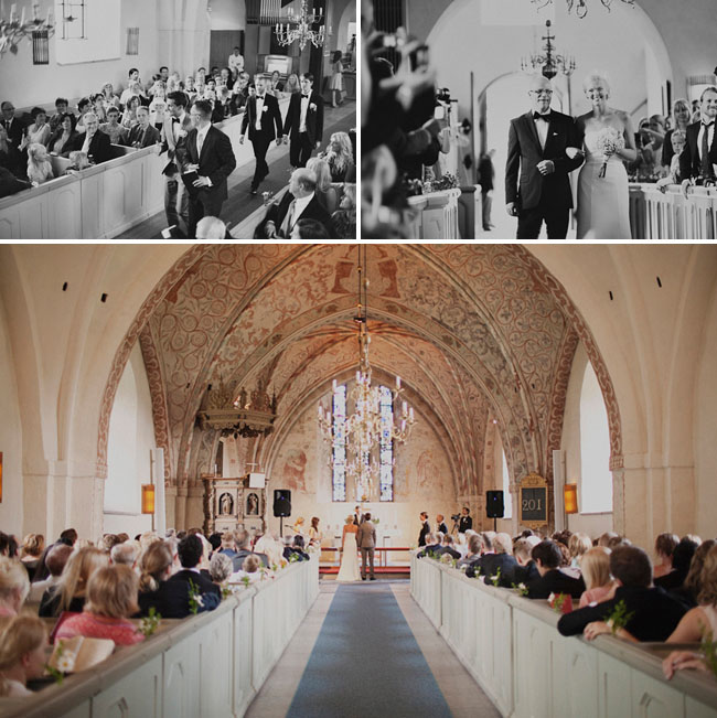 sweden church wedding