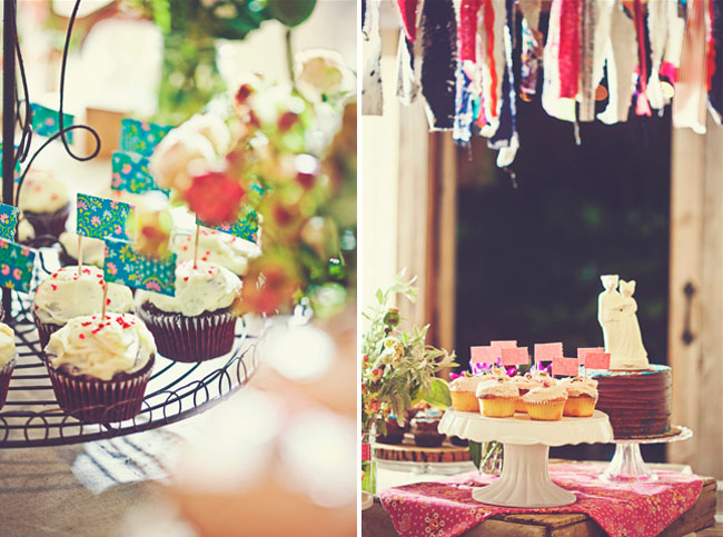 cupcakes for wedding dessert