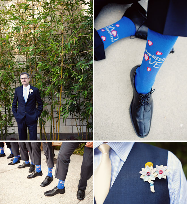 all you need is love groom socks