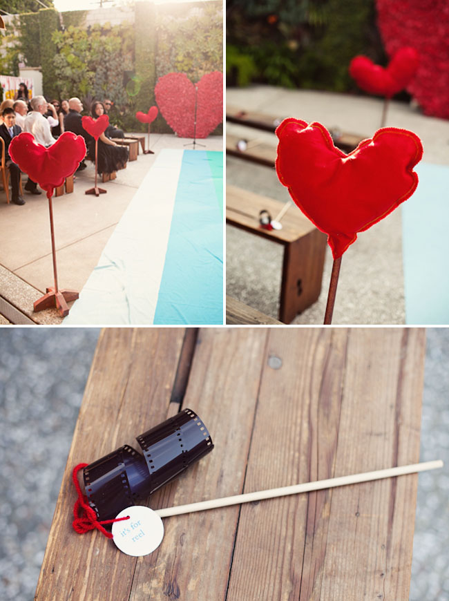 heart ceremony decor