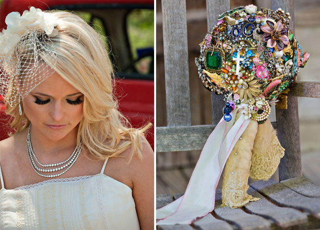 miranda lambert wedding bouquet